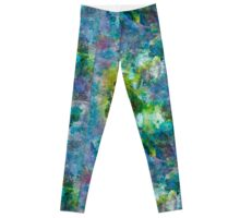 Exotic Flower Leggings