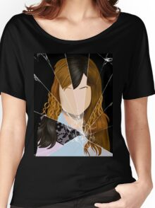 Carmilla - Broken Mirror Shirt Women's Relaxed Fit T-Shirt