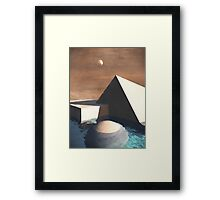 Geometry Pool Framed Print