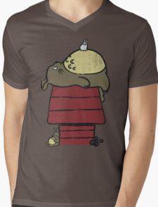 My neighbor Peanut Mens V-Neck T-Shirt