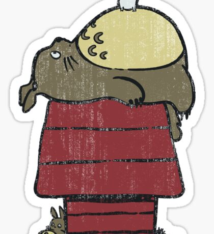 My neighbor Peanut Sticker