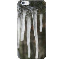 Icicles Dripping from a Tree iPhone Case/Skin