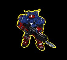 Stars and Stripes Raynor by rhysonthenet