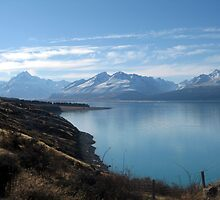 Lake Pukaki, Mount Cook by Cheryl Parkes