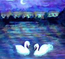 Swan Lake by Caroline Munday