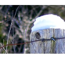 Winter's Cap. Photographic Print