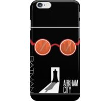 Batman: Arkham City Minimal iPhone Case/Skin