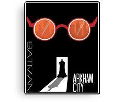 Batman: Arkham City Minimal Canvas Print