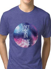 Purple Galaxy Tri-blend T-Shirt
