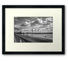 Icons of Glasgow Framed Print