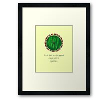 Bag End Framed Print