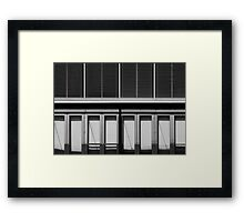 A Sense of Community Framed Print