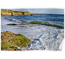 Ocean view in Guidel - Brittany Poster