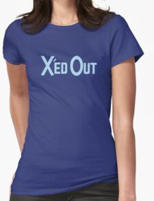X'ed Out Womens Fitted T-Shirt