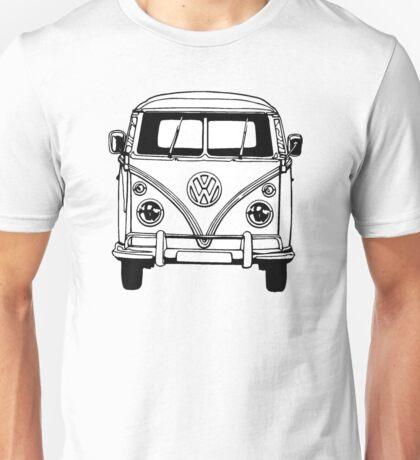 Volkswagen VW Bus Van Unisex T-Shirt