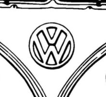 Volkswagen VW Bus Van Sticker