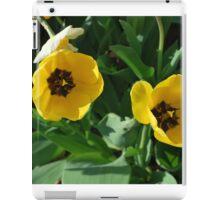 Yellow Tulips iPad Case/Skin