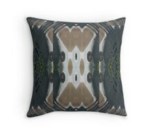 Bow Black Throw Pillow