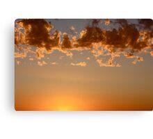 Above the Sun Canvas Print