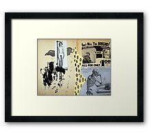 HUMANI CORPORIS Framed Print