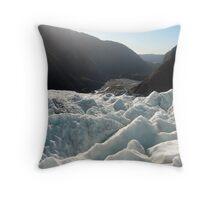 Franz Josef Glacier Throw Pillow