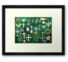 Chrismons Framed Print