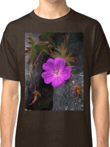 Bloody Cranesbill, Dun Aengus, Inishmore Classic T-Shirt