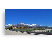 SoCal Winter Panorama Canvas Print