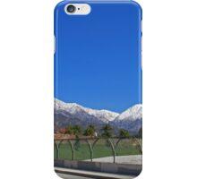 SoCal Winter Panorama iPhone Case/Skin