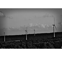Partnership of Land and Technology Photographic Print