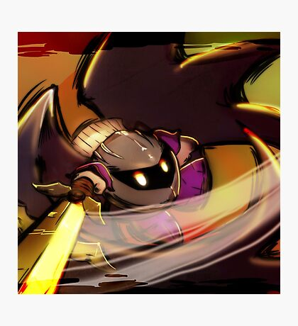 Metaknight! The Warrior from the Distant Stars! Photographic Print