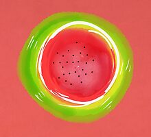 Neon Watermelon by Natalie Tyler