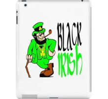 Black Irish St Patrick's Day iPad Case/Skin