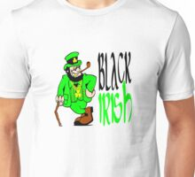 Black Irish St Patrick's Day Unisex T-Shirt