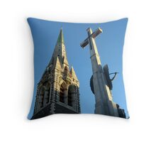 Christchurch Cathederal Throw Pillow