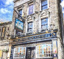 The Prospect Of Whitby Pub London Art by DavidHornchurch