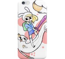 Fionna and Cake Fan Art iPhone Case/Skin