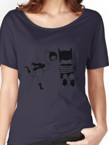 Catwoman Kissing Batman Women's Relaxed Fit T-Shirt