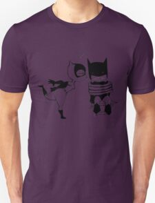 Catwoman Kissing Batman Unisex T-Shirt