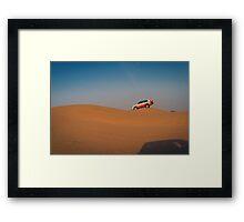 dune bashing Framed Print