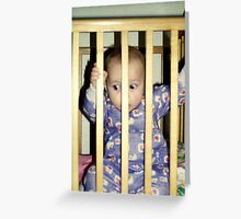 I Was Framed! Greeting Card