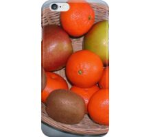 A Basket of Goodness iPhone Case/Skin