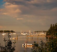 Evening at Southwest Harbor, Maine by MarkEmmerson