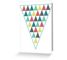 Pyramid Greeting Card