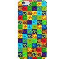Dino Rainbow iPhone Case/Skin