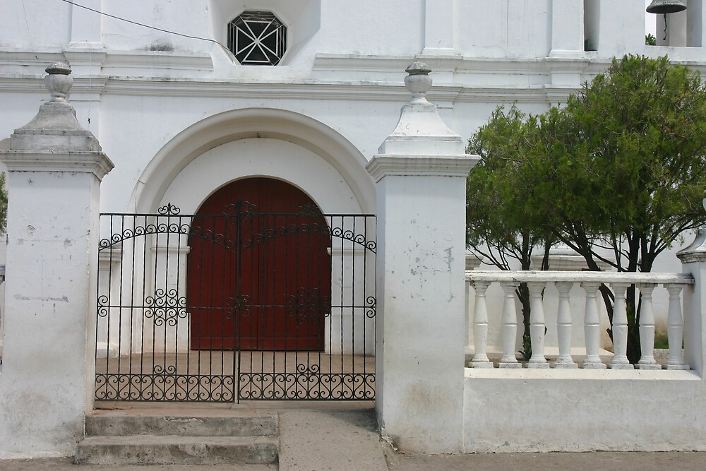 white church  by notomes