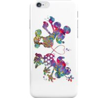 Mickey Minnie Mouse Love Watercolor iPhone Case/Skin