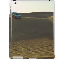 sunset at the desert iPad Case/Skin