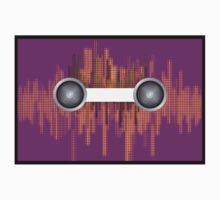 Music background with halftone One Piece - Long Sleeve