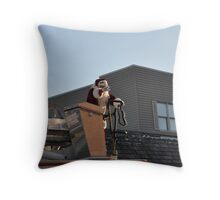 St Nick!! Throw Pillow